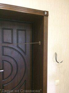 Облагорожка входной двери (металл Белуга-Луна)